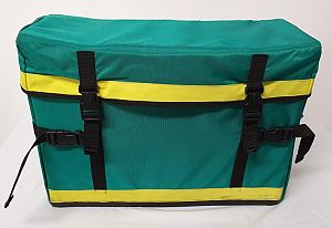Green Paramedic Bag dressed