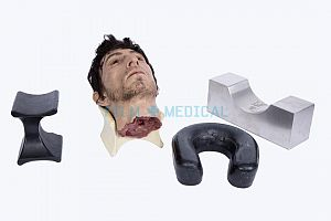 Mortuary Headrests and Silicone Head