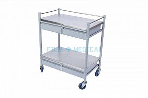 Trolley Rectangular with Drawers