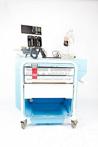 Defibrillator And Crash Cart