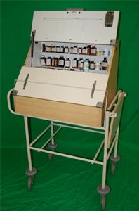 Drugs Trolley Fully Dressed
