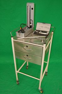 Cream and Stainless Steel Trolley