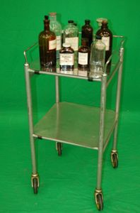 Stainless Steel Trolley  Sq
