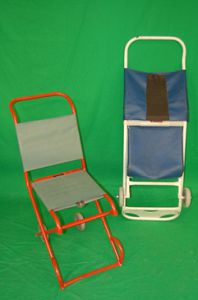 Evacuation Chairs in Wood and Metal