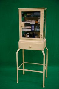 Period Hospital Cabinet