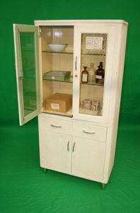 Dressed Period Hospital Cabinet
