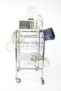 Heart Monitor on Trolley