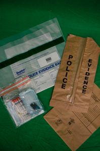 Forensic Evidence Bags and DNA Evidence Swab Kit