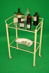Period Hospital Trolley
