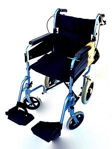 Wheelchair in Light Blue