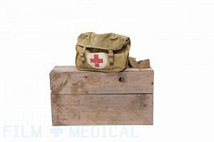 Military army satchel with soft dressing