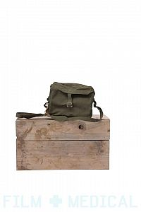 Plain military army satchel