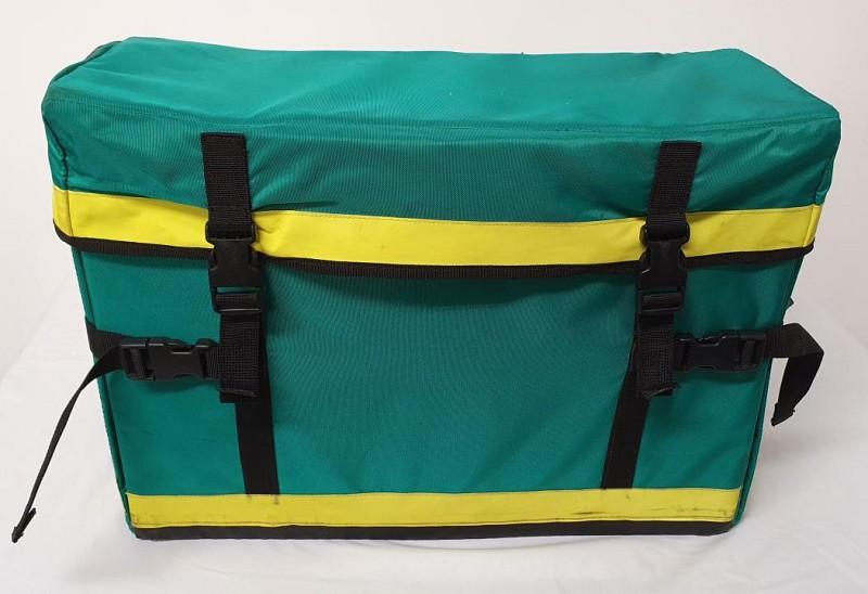 Green Paramedic Bag dressed