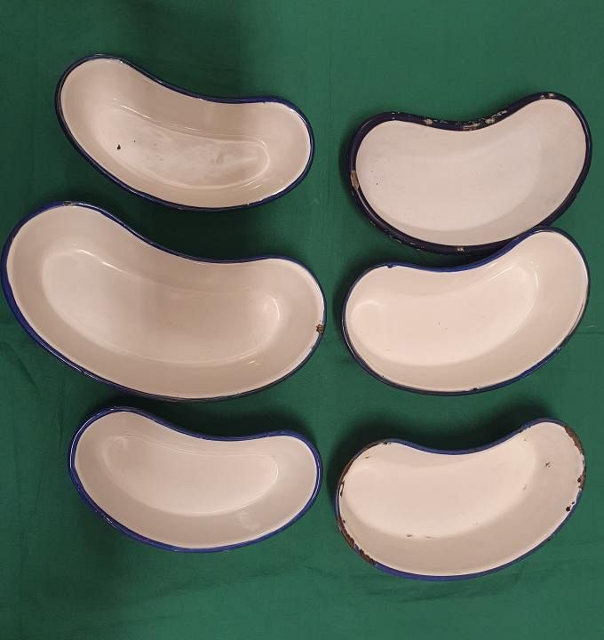 Medium Enamel Kidney Dish