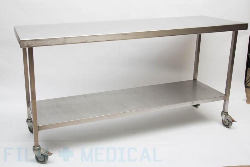 Laboratory Table On Wheels