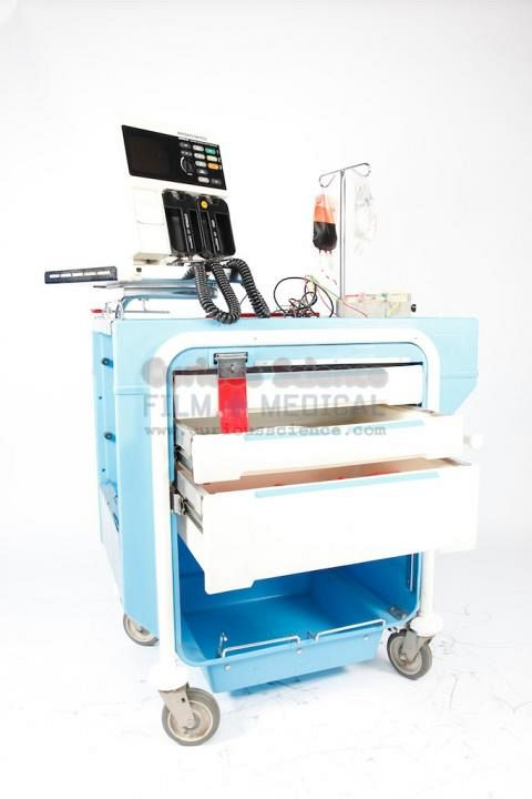 Defibrillator And Crash Cart