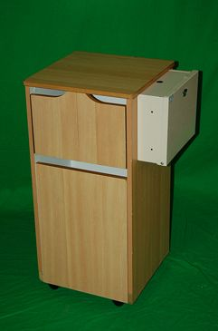 Modern Hospital Bedside Cabinet.