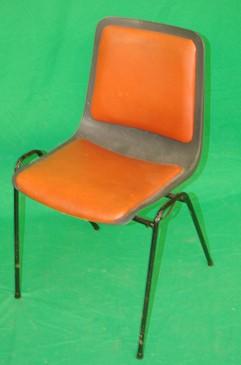 Waiting Room Chair in Orange