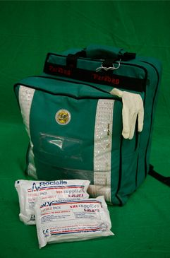 Green Paramedic Bag