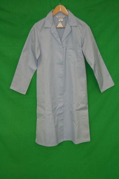Doctors Coat in Pale Blue
