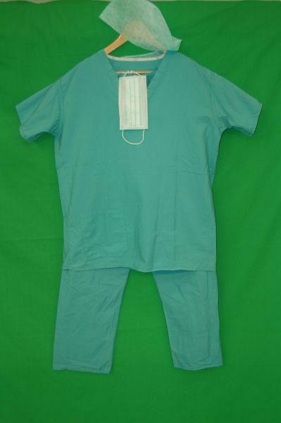 Green Surgical Scrubs Set