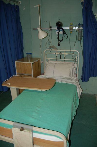 One Bed Hospital Ward Film Set