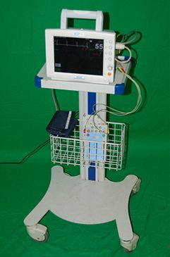 Bionet Heart Monitor and Stand