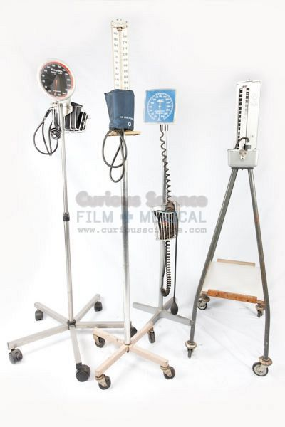 Blood Pressure  Monitors on stands