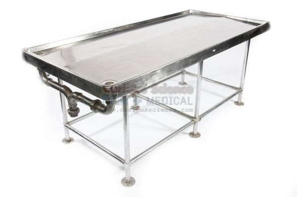 Dissection table without bady bag