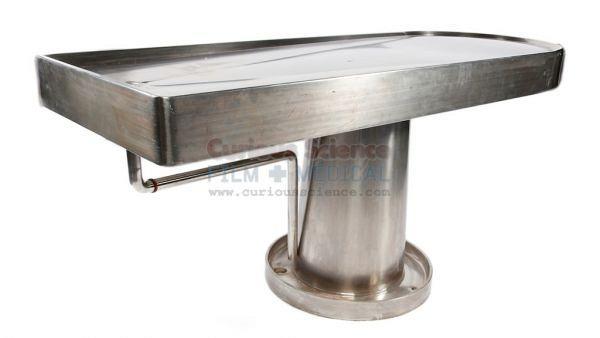 Homerton mortuary table