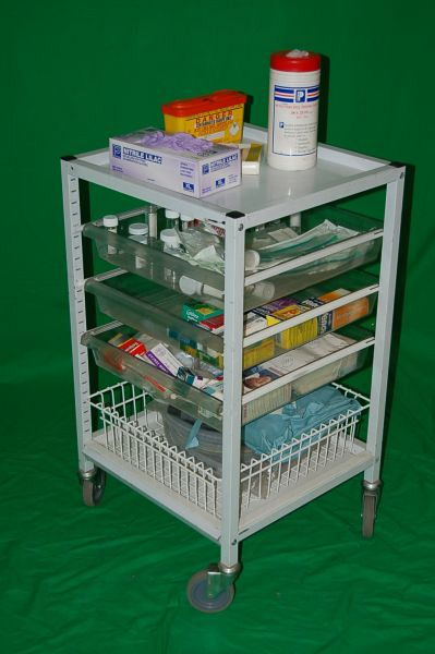 Modura cart storage trolley