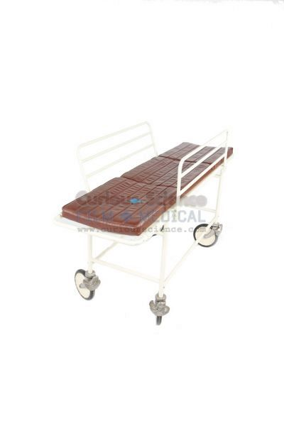 Period Body Trolley with Brown Cushion