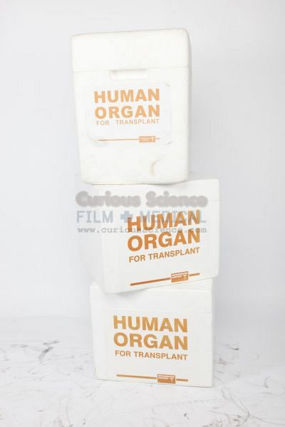 Human Organ Transplant Containers