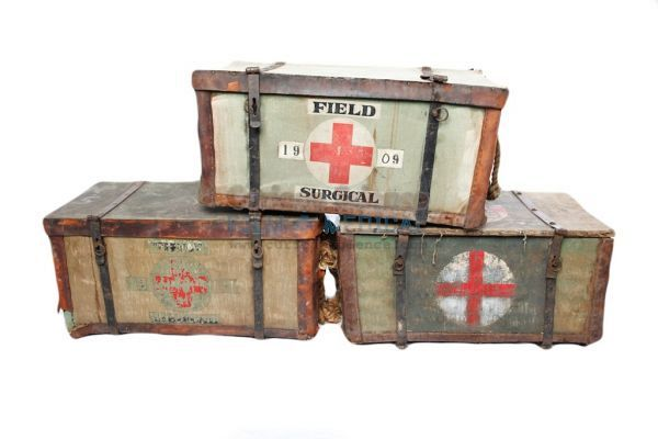 Period Field Dressing Cases