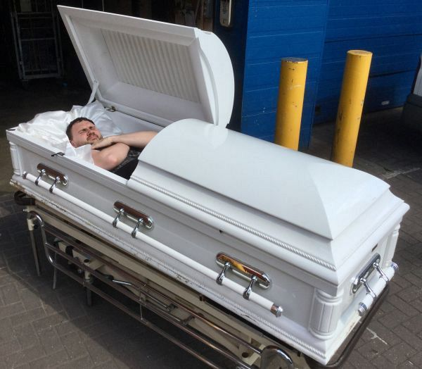 Open casket / coffin