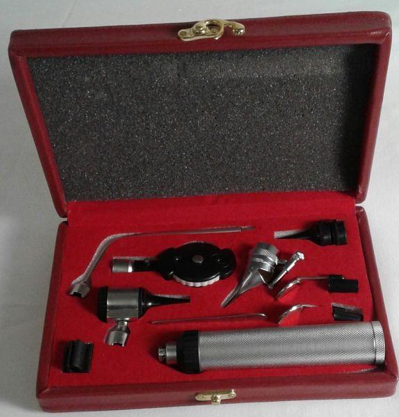 Ophthalmascope & Otoscope cased set