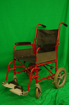 Wheelchair Red and Black
