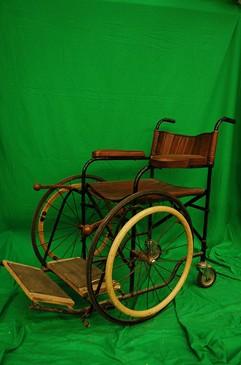 Period Canvass Wheelchair
