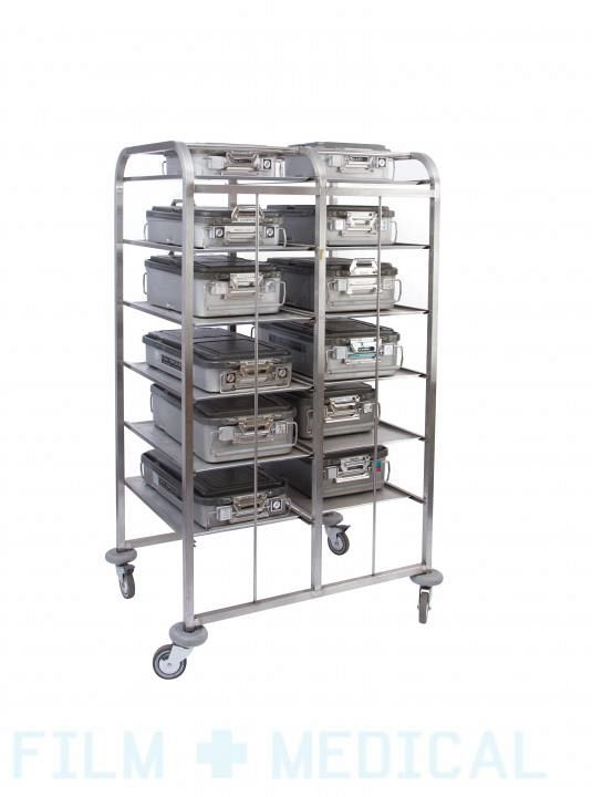 Instrument case rack